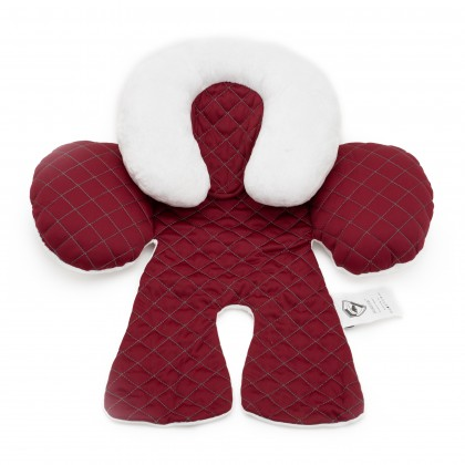 Baby Head and Body Support Pillow for Stroller / Car Seat - BLACK / GREY / ROYAL BLUE / MAROON
