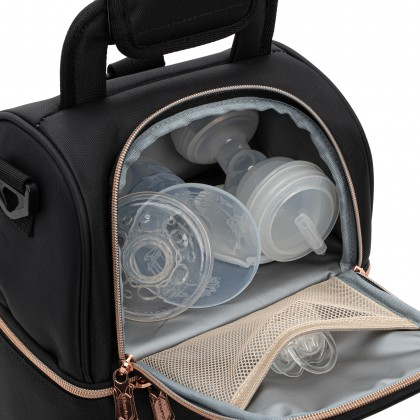 Double Layer Breast Milk Storage Cooler Bag - ROSE GOLD EDITION
